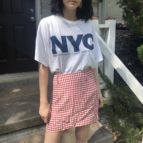 14f7069eed2 @sierraleines. 16 days ago. Atlanta, United States. Cute little vintage gingham  red and white mini skirt!