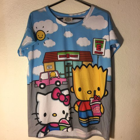 295764c9e @ehhdee. 9 months ago. Anaheim, United States. Check out this The Simpsons  x Hello Kitty by Japan LA Clothing shirt ...