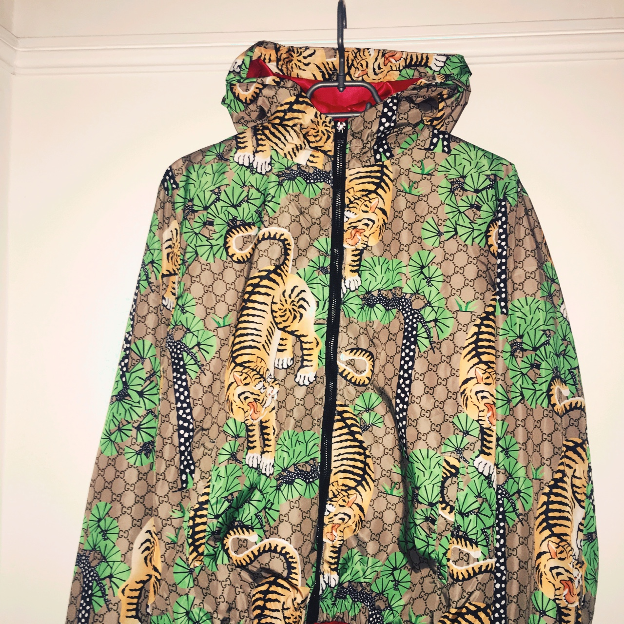 fc0a5b6e4 haydnclarke1997. London, UK. Men's Gucci Bengal Tiger Jacket ...