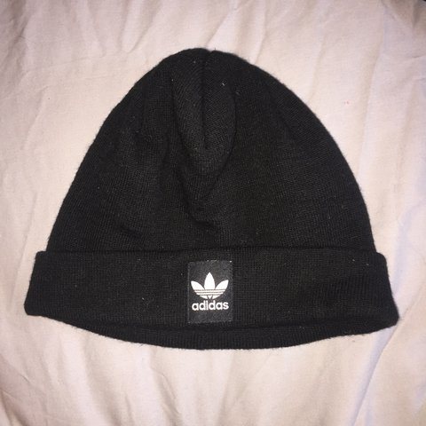 9735ba1a9a74d Adidas beanie. Worn once. Excellent condition. - Depop