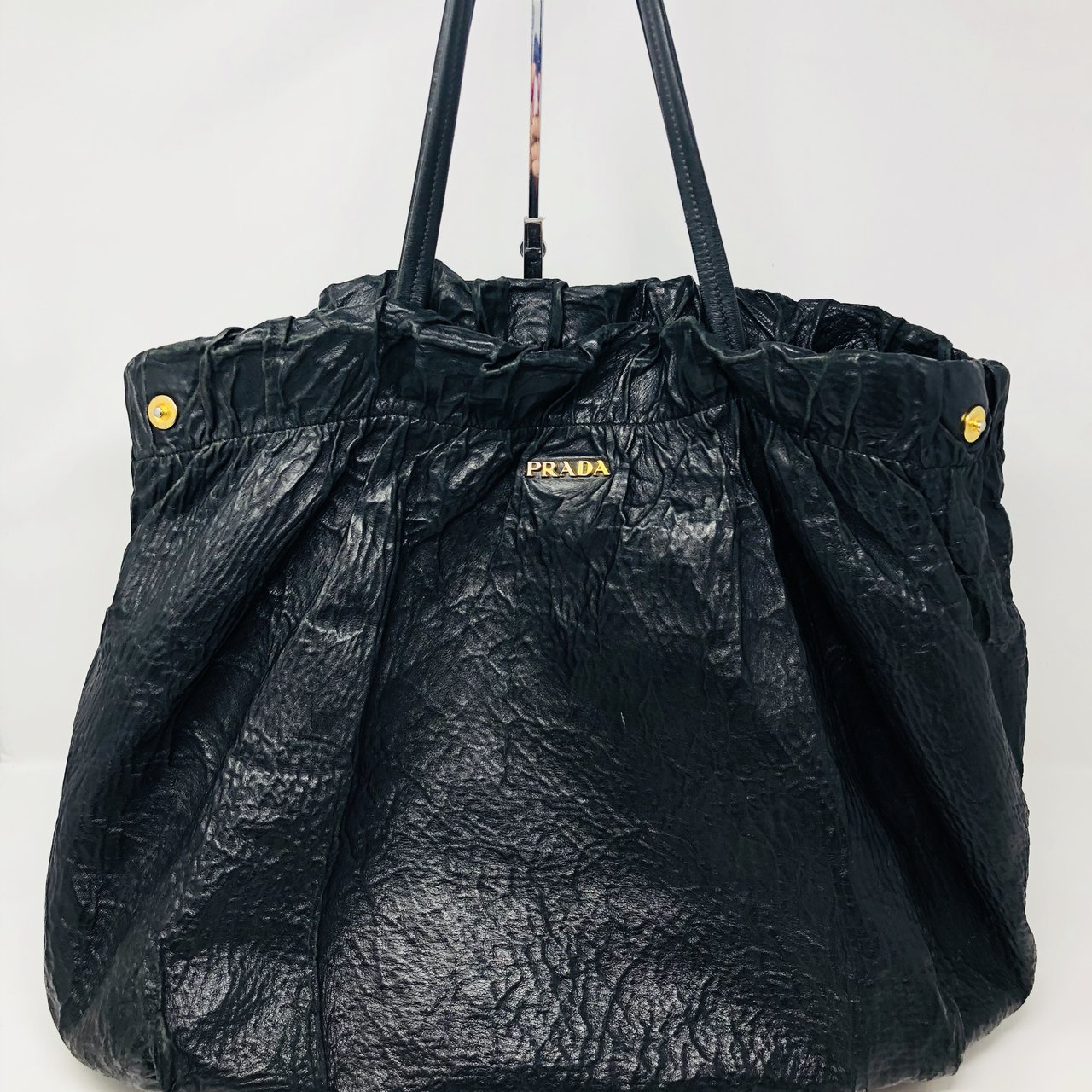 2c5863655a5e Gorgeous extra large authentic Prada tote bag. Beautiful and - Depop