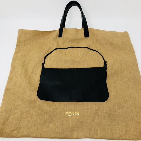 Gorgeous authentic Fendi fabric bag with a print of their a - Depop 56044f6e58113