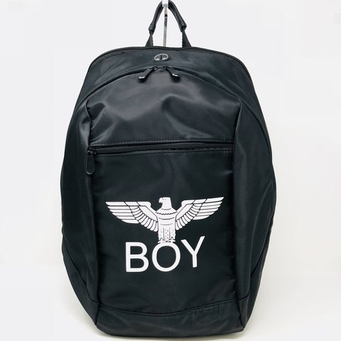 af5c9621bce6 Super cool Boy London eagle backpack in black nylon. In pre - Depop