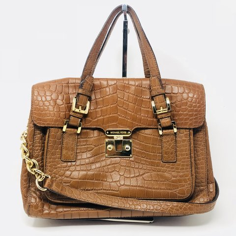 5b865de3a4f6 Bundle for Michael Kors Brown Satchel and blue Rebecca three - Depop