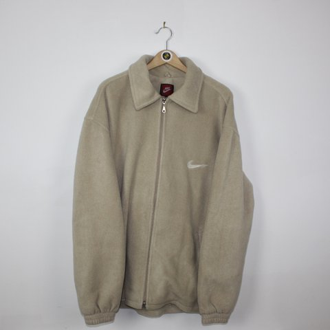 675c3b8af @sestrisvintage. 2 years ago. Liverpool, UK. Vintage fluffy super warm Nike  fleece / jacket // men's size ...