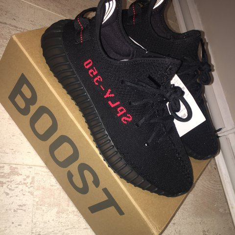 c7bd805698a Brand new Adidas Yeezy Boost 350 V2 Black Red  Bred