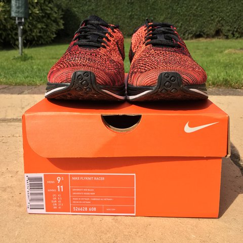 db4eec71a56d Nike Flyknit Racer Uni Red Retro (mixed weave