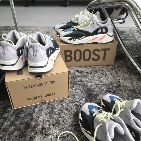 6fac3c88f1759 SELLING BRAND NEW Adidas Yeezy boost 700 wave runners. PRICE - Depop