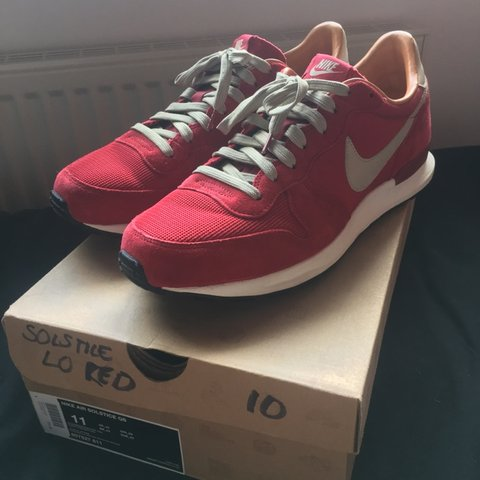 huge selection of 30b39 e8fe2  phil t. 5 days ago. Dewsbury, United Kingdom. Nike Air Solstice QS - Storm  Red ...