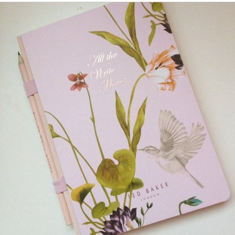ted baker notepad