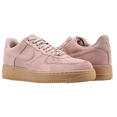 365a2bab721 New NIKE AIR FORCE 1  07 SE size 6 particle pink suede with - Depop