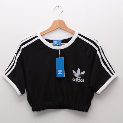 d4d4c1da039 @bcgarmz. 2 years ago. Loanhead, United Kingdom. Brand new with tags Adidas  Originals California Tee crop top. White ...