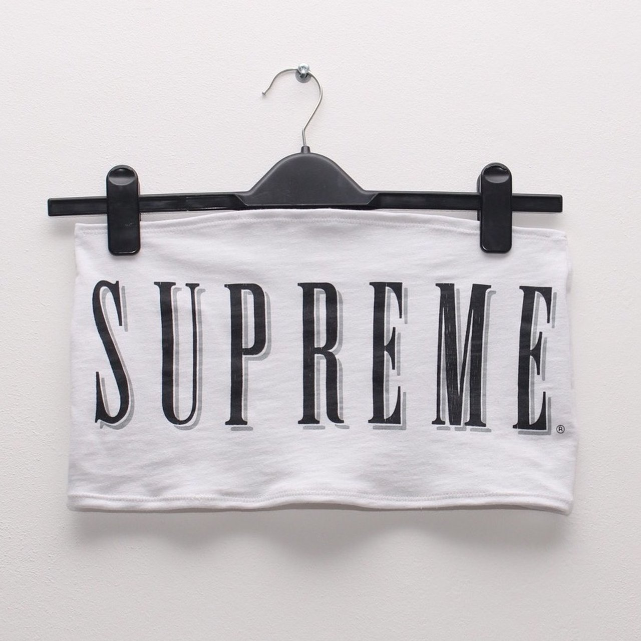 6059fbbe52b20 Supreme Bandeau top. Made from a genuine supreme t- shirt. - Depop