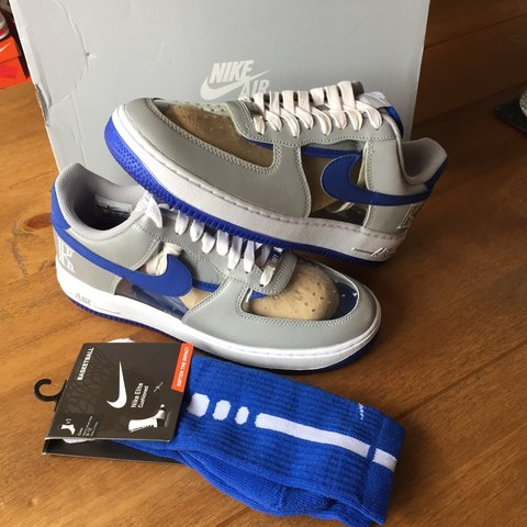 a4ec8262f51 Brand New Nike Air Force 1 CMFT SIGNATURE QS KYRIE IRVING UK - Depop