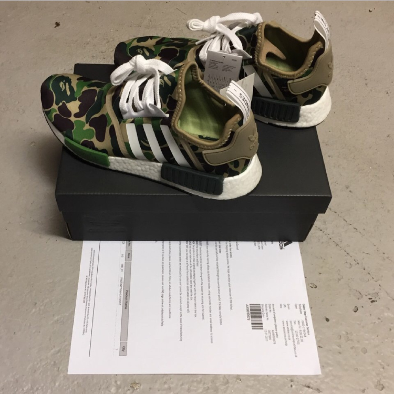 BAPE x ADIDAS NMD R1 SIZE UK 8.5 MORE PICTURES Depop