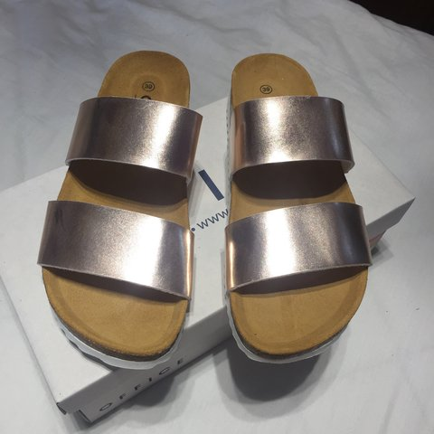 ec0b2ca8181 Office Rose Gold Sandals..Brand new in box..UK Size 6..Price - Depop