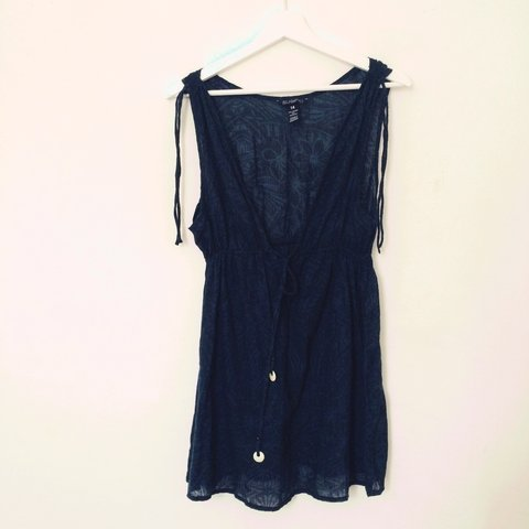0ec5276e3fd Billabong sundress. Size 14 but I am a 8 and just wear it as - Depop