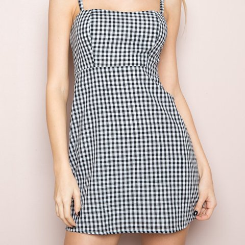 f5b10368a3 @colder. 2 years ago. New York, United States. Brandy Melville gingham  Karla mini dress 🌹 never ...