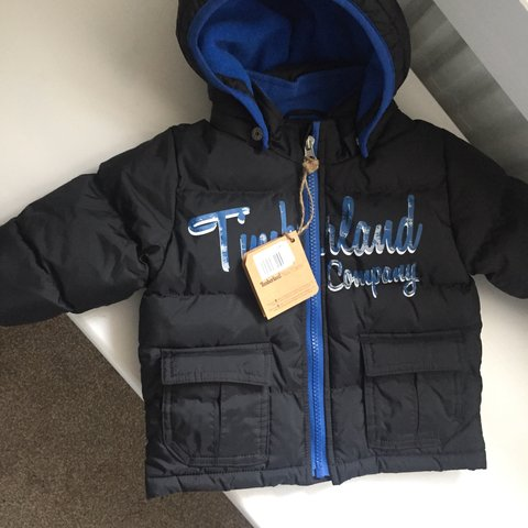 4252cfe01b Timberland baby coat up to 6mths. New with - Depop