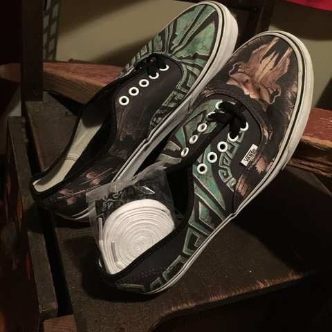 Vans authentic custom color-way with black and white laces - Depop 543e2d485