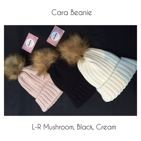 781acba2a33 Catch our bestselling Cara beanie hat in Cream (3rd on and a - Depop