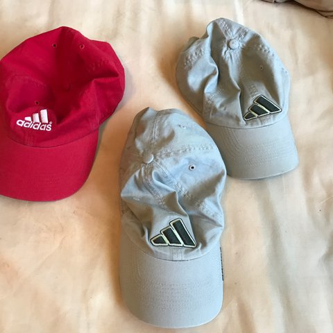 68f32610bd0 Adidas hats. I believe they are men's one size fits all. All - Depop