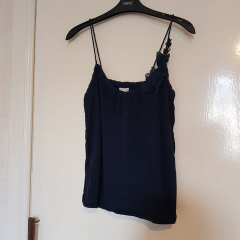 919f3ce6d2b94f Abercrombie and Fitch royal blue strappy top. Twisted and - Depop