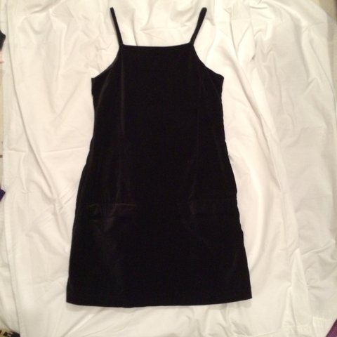 16bab2835a2 Velvet little black dress!!!!! Says its from old navy