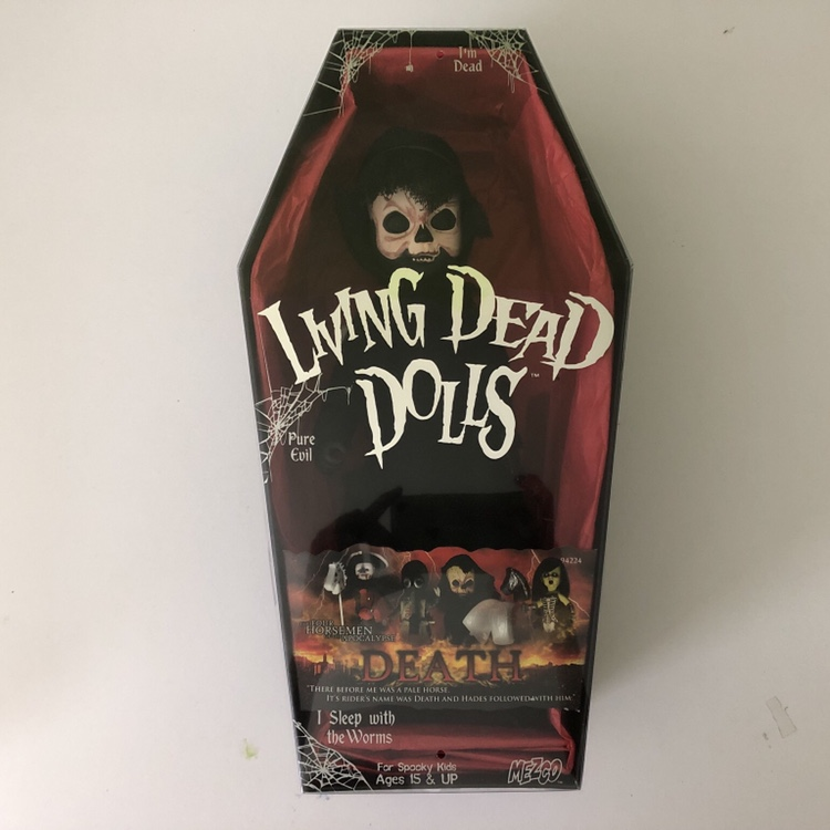 Living Dead Dolls DEATH Four Horsemen of the    - Depop