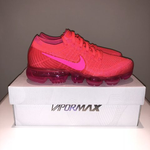 98d6584b04e  RARE  Brand new Nike Vapormax hyper punch colour Size UK - - Depop