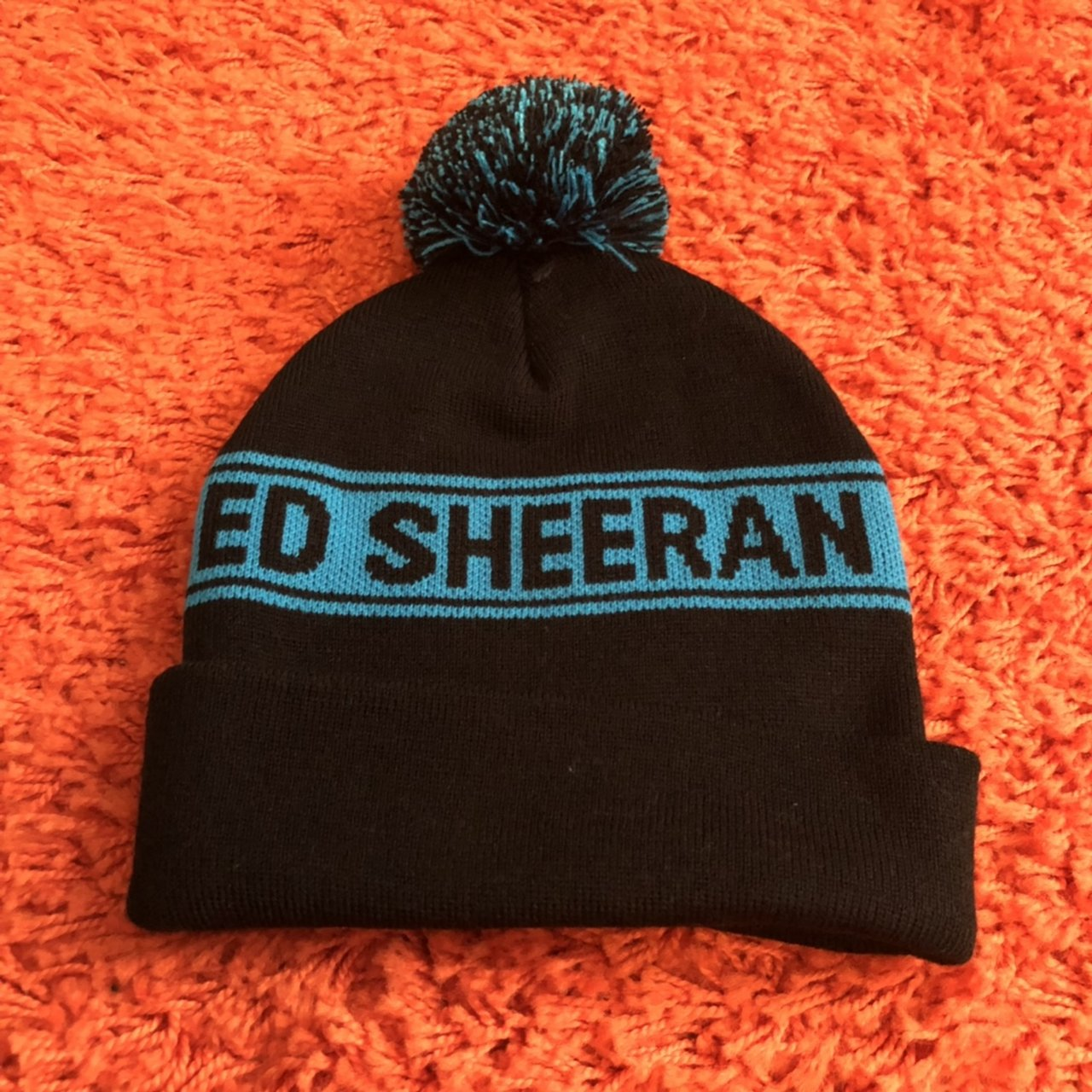 Ed Sheeran beanie. Never been worn.  EdSheeran  Divide - Depop 650351192f2