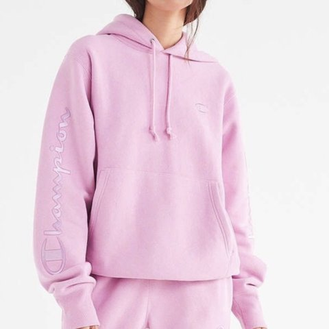5153aa39da Bubble gum pink Champion hoodie!! Size XL