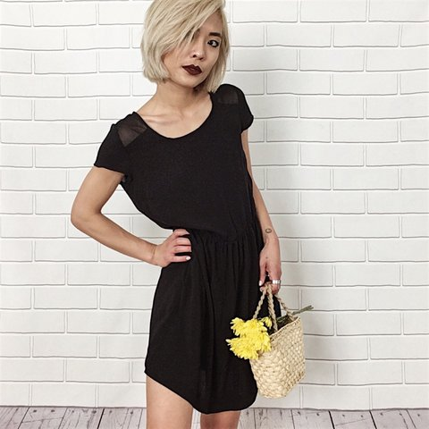 43c3815b5f3 Simple Little Black Dress. The perfect little sundress to in - Depop