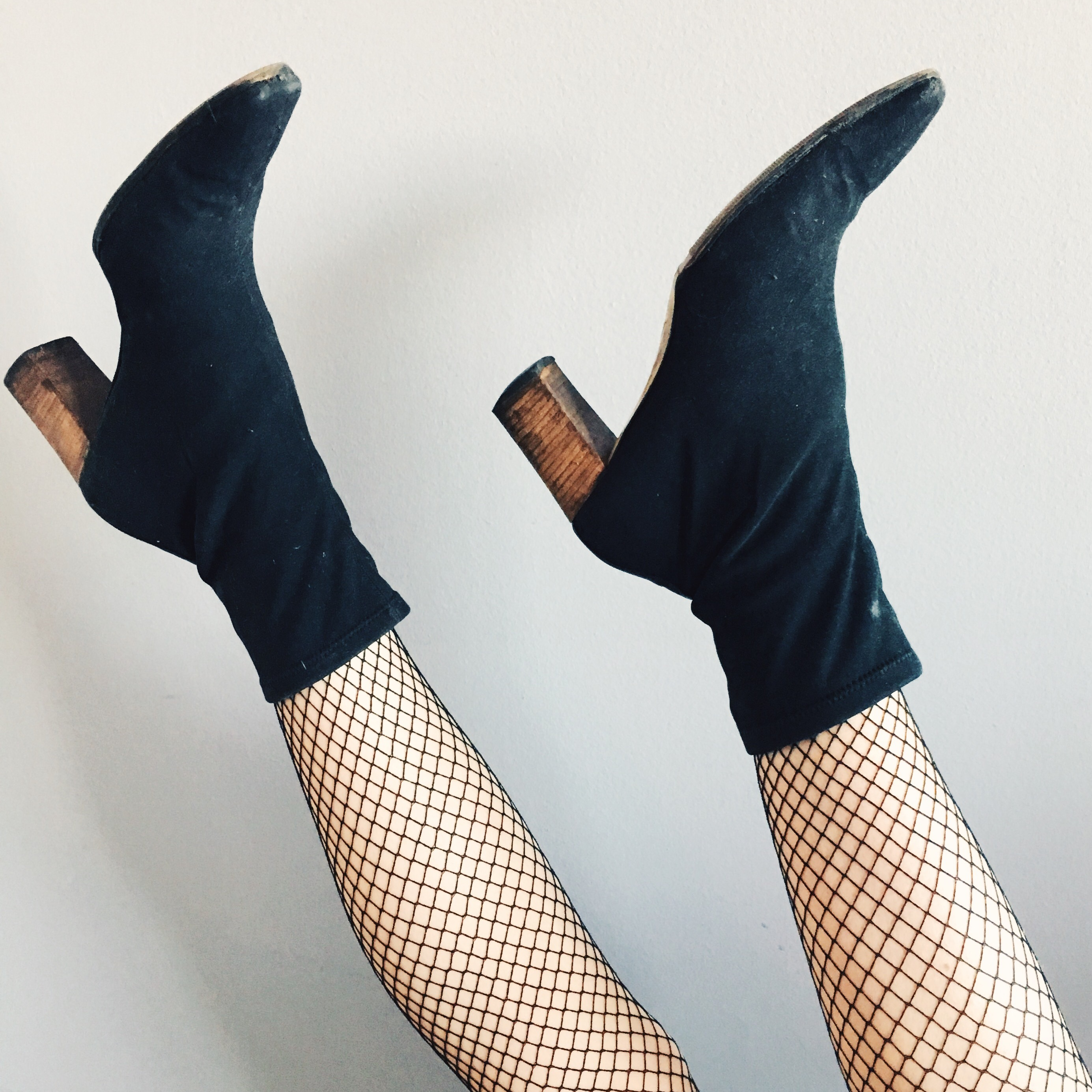 GUCCI pointed (square toe) sock boots