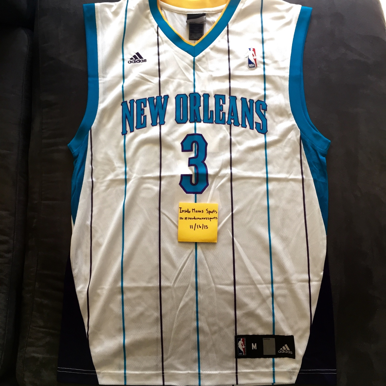 big sale b17ff 857da NBA Adidas Jersey || Chris Paul #3 New Orleans... - Depop