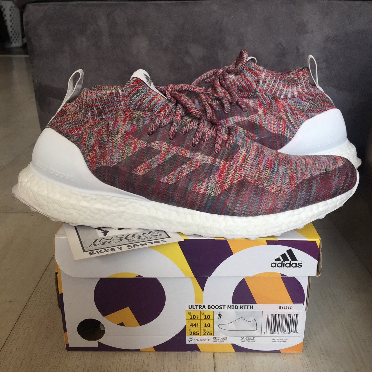 For sale, no trades Adidas Ultraboost Kith Mid    - Depop