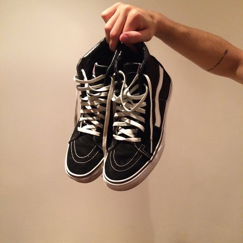 94dcc7f6bf1f8c Men s Old Skool Vans size UK 9. Only selling as I want a new - Depop
