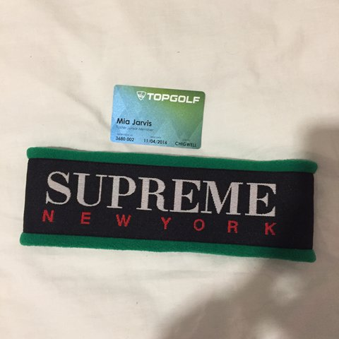 26b985916a7 🔴 Supreme fleece headband 🔴 perfect for winter. Gucci Only - Depop