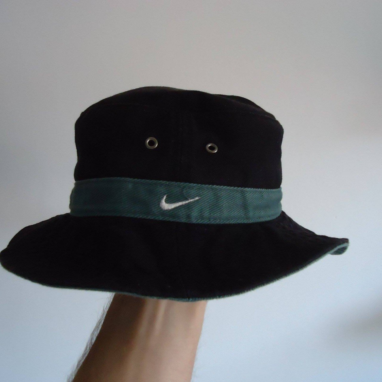 VERY RARE Nike Bucket Hat Black and Green Size Small (this a - Depop 704347483b1