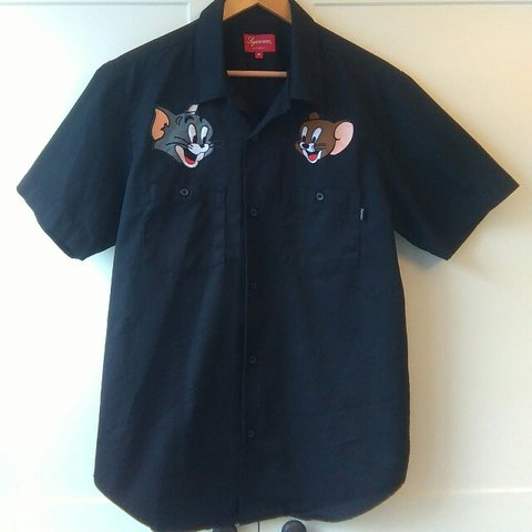 Sadjon2002 Last Year Glenfield Leicester United Kingdom Supreme Tom And Jerry Work Shirt