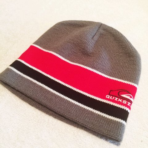 716df0a148b New Quiksilver Beanie never worn. From my collection for 12 - Depop