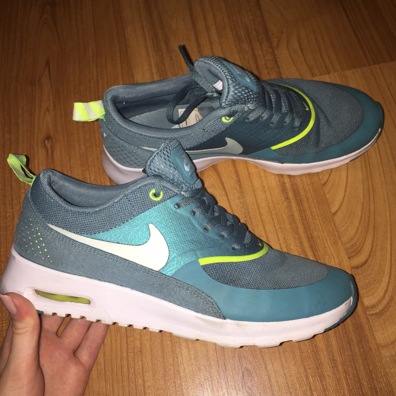 Nike Air max Thea! Size 4.5. Would also fit a 4! Great Worn - Depop c56096e8f