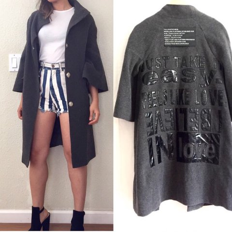 Light Coat By Russian Designer Kira Plastinina Bell Depop