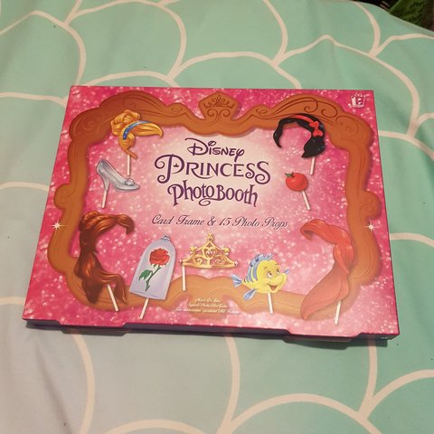 Disney Princess Photo Booth Props New In Box Disney Depop