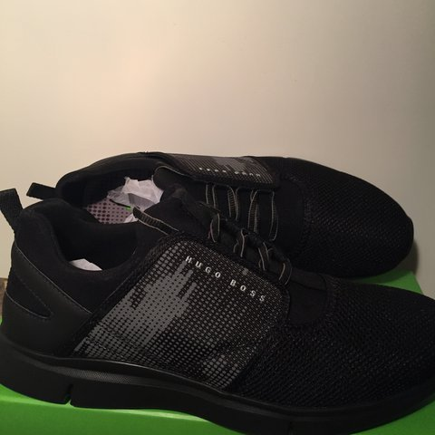 fd31c6218ce Brand new Hugo Boss trainers size 9   comes with box 10 10 - Depop