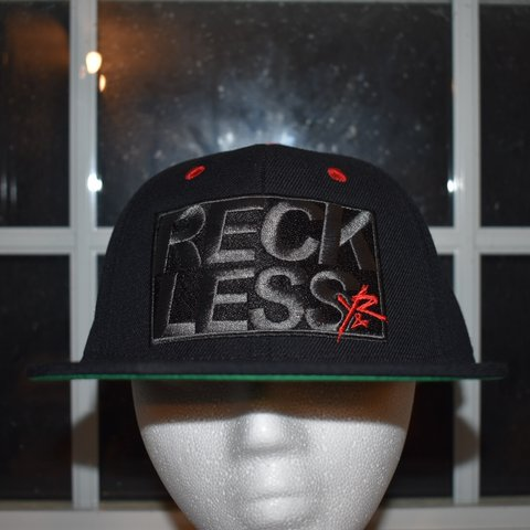 newest 17b71 00818 -Young   Reckless Snapback -Black- 0