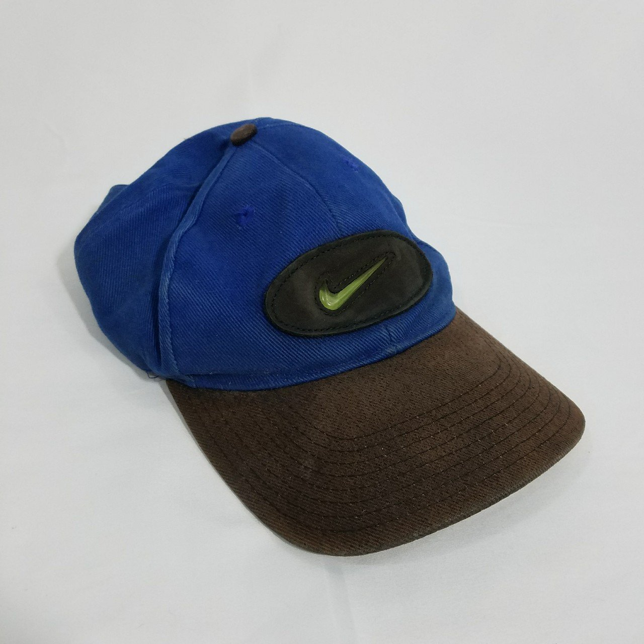 Vintage Nike buckle strap hat in great condition. This hat - Depop 673c6ed0d2b