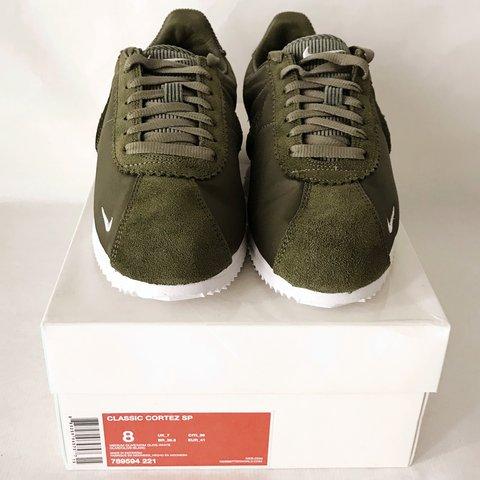 e6d589fd0e inexpensive ireland nike olive classic cortez trainers in green lyst b498d  0767d 5067c 8a346; order classic corduroy nike cortez trainers in khaki  green ...
