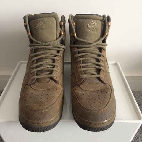 huge discount 73ba6 15ce9  mikecov94. 2 years ago. Wrexham, UK. Nike Air Force 1 Military Boots UK10