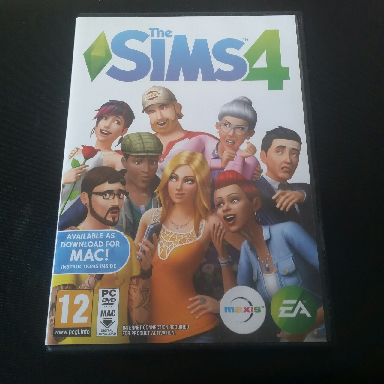Sims 4 PC game, will also supply my Origin username    - Depop